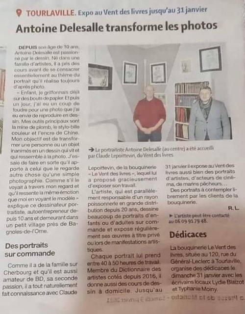 La Presse de la Manche le 09/01/2021