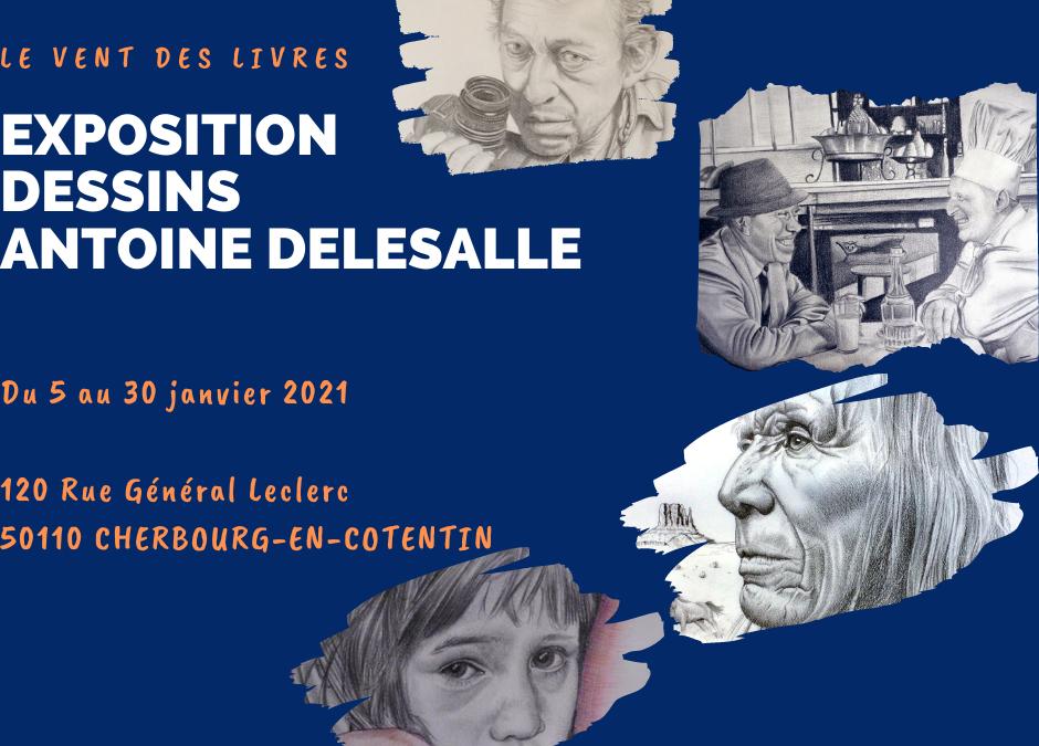 Exposition de dessins Antoine Delesalle