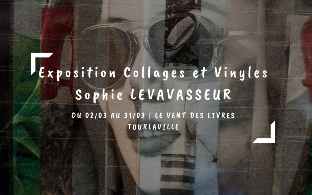 Exposition Collages et Vinyles Sophie Levavasseur