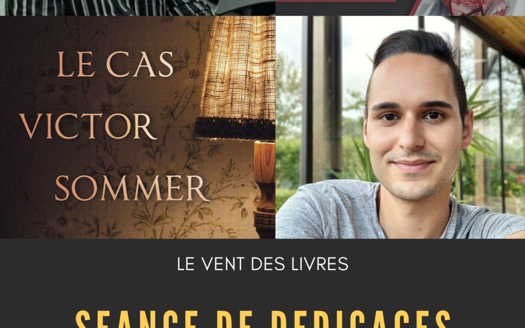 Séance de dédicaces de Léo Karo et Vincent Delareux le 30/05/2021