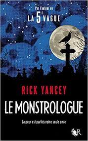 Le monstrologue de Rick Yancey